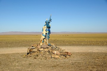 Ovoo, Mongolie