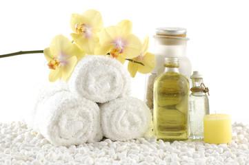 Spa treatment. Aromatherapy. Essence.