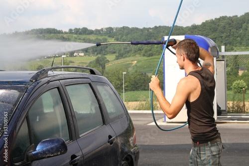 lavage auto au karcher photo libre de droits sur la banque d 39 images image 33308563. Black Bedroom Furniture Sets. Home Design Ideas