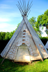 Photo sur Plexiglas Indiens tepee