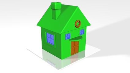 maison verte _ Logement