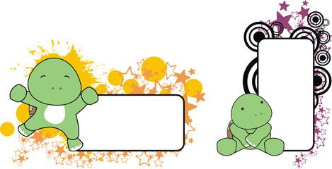 baby turtle copyspace