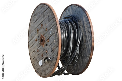 Touret de c ble lectrique moyenne tension photo libre de droits sur la banque d 39 images - Touret de cable ...
