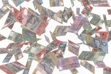 australian dollar in air