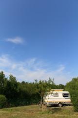 small pop-top caravan