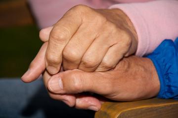 Die Hände eines Paares 2