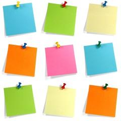 Buntes Notizzettel Set
