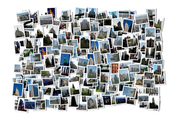 New York Collage Bildersammlung