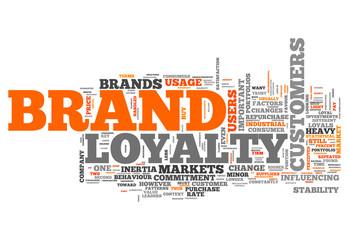 "Word Cloud ""Brand Loyalty"""