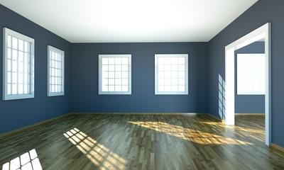 Wohndesign - graues Zimmer