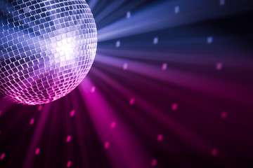 Wall Mural - party lights disco ball
