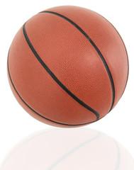Traditional American Basketball Ball Close Up