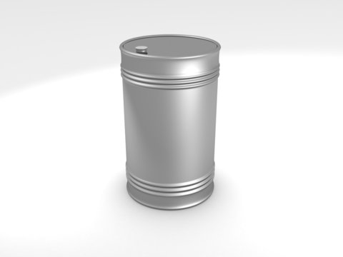 metal oil fuel barrel