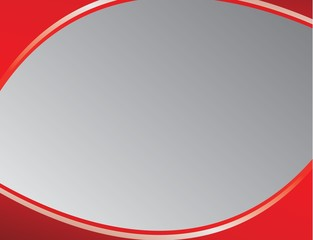 wallpaper red half circle