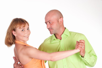nice couple dancing