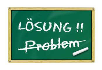 Tafel Problemlösung