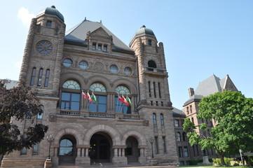 Ontario Legislative Building in Toronto, Canada