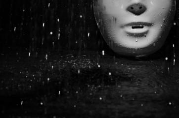 Mask and rain