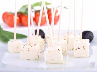 fromage feta, amuse-bouche