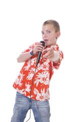 Junger Popstar