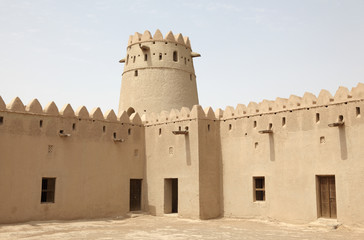 Ancient fort of Al Ain, Abu Dhabi, United Arab Emirates
