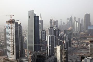 Skyscrapers in Business Bay - Dubai, United Arab Emirates