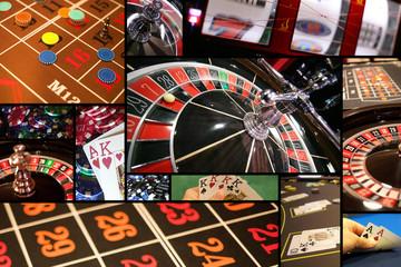 Mosaique de jeux de casinos