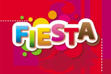 Fiesta Vector background