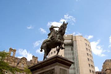 Statue of Edward III Tbe Black Prince