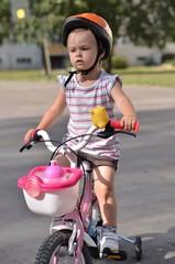 bébé et vélo