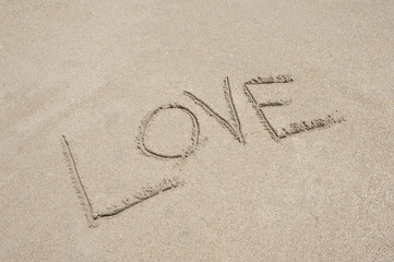 Love Written In Sand