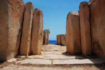 Ancient Architecture Of Old Mediterranean Culture