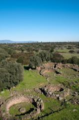 """Sardinia, Italy: Sedilo, """"Iloi"""" nuragic complex"""