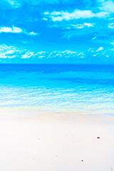 Coastline Maldives Summer