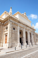 Altes Gefängnis Cárcel Real in Cadiz, Spanien