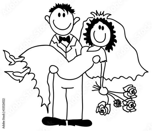 Hochzeitspaar Stockfotos Und Lizenzfreie Vektoren Auf Fotolia Com