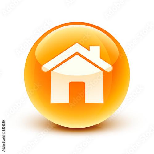 Ic ne maison house icon fichier vectoriel libre de for Acheter maison sans mise de fond