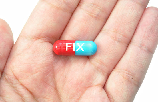 Pill fix