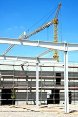Neubau einer Industriehalle 659