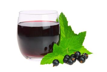 Johannisbeere schwarz Saft - black currant juice 01