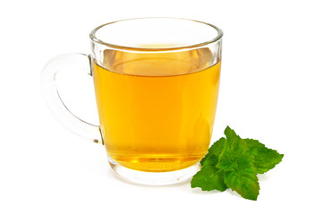 Herbal tea with mint