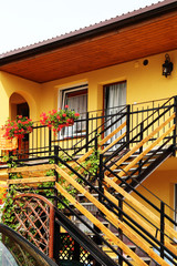 Sunny yellow house