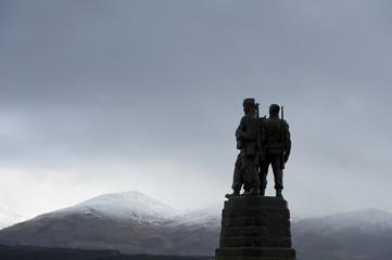 Memorial to commandos