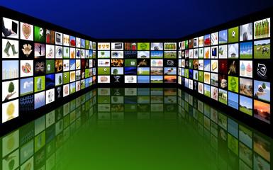 Fernsehbildschirme
