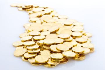 Heap of Gold Coins.