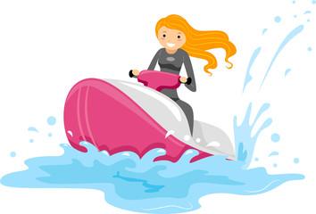 Jet Ski Girl