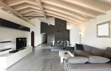 modern architecture contemporary, interior, large livingroom