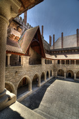 Dukes Palace of Bragança Courtyard, Guimarães.