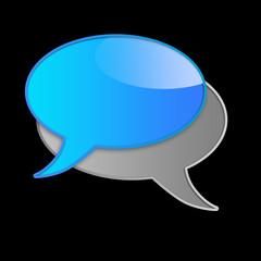 kommunikation button