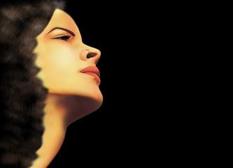 Ritratto Ragazza Sensuale-Sensual Girl's Portrait